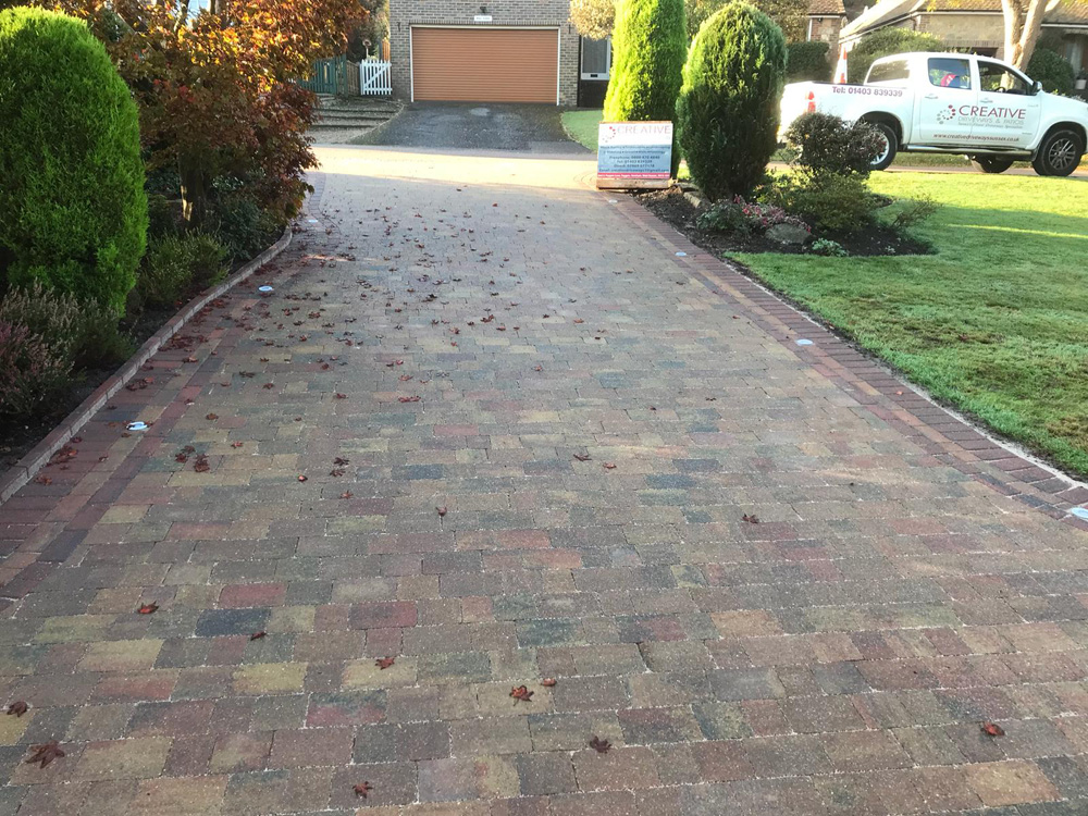 creative driveways and patios - west sussex and surrey